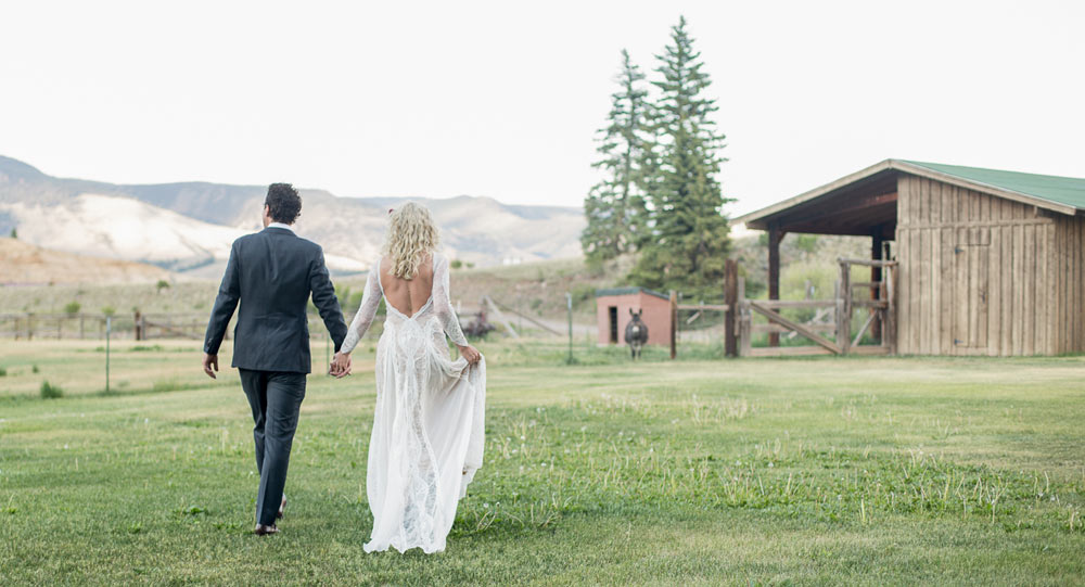 Wedding at Antlers in Creede Colorado