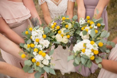 I Organic Wedding Flowers