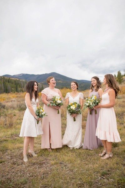 K Colorado Wedding Photographer bridesmaids