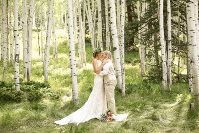 21 First Kiss   Elope in the Aspens