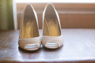 67 brides shoes in the sun