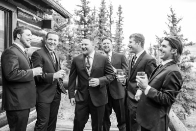 72 Good Times Laugh with the groomsmen