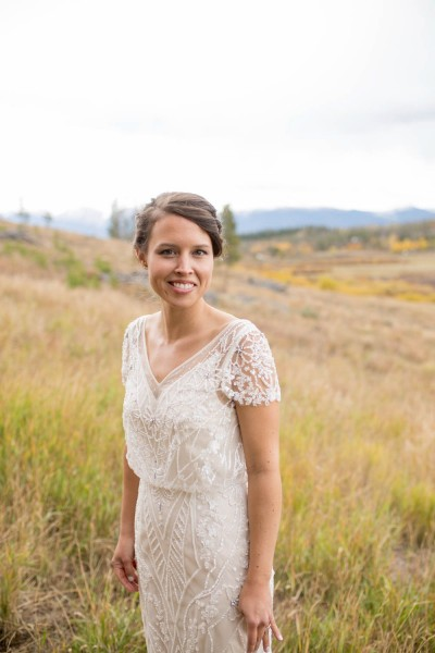 N colorado bride portrait