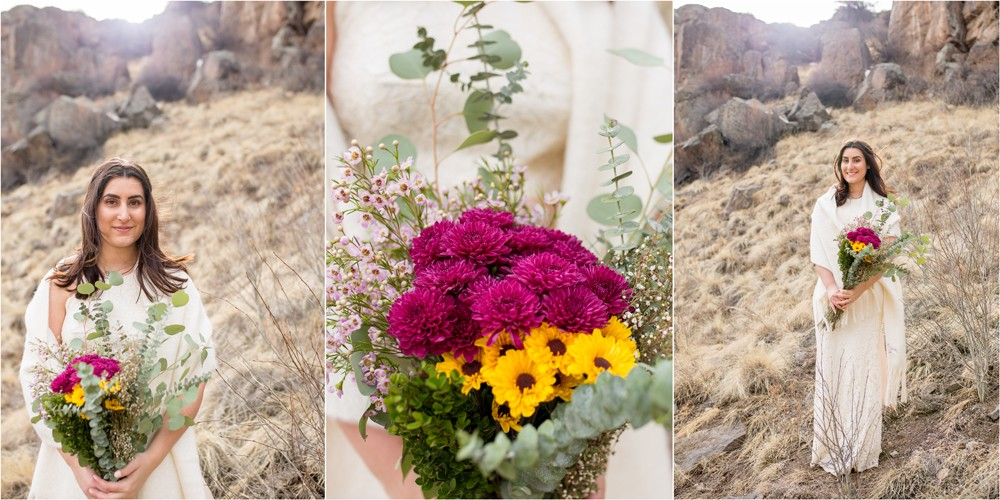 05 Gorgeous Creede Bride at South Clear Creek Falls