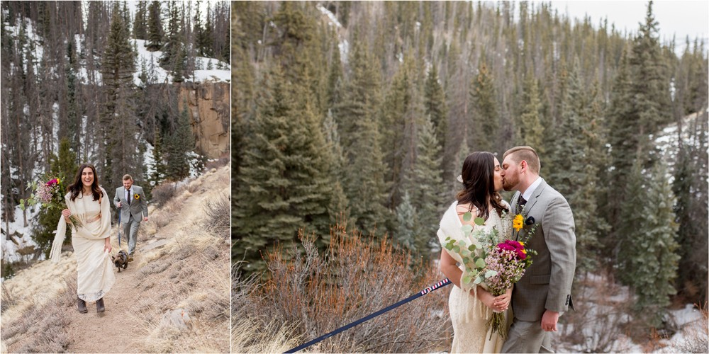 11 Adventurous Bride and Groom in Creede Colorado