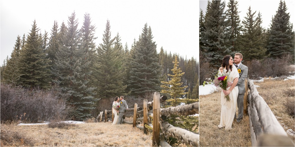 12 Bride and Groom Married in Creede Colorado