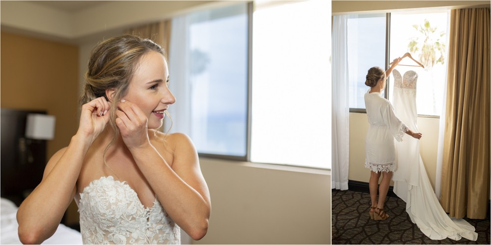 02 Bride getting ready piont loma ocean view room