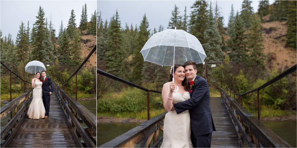 17 Bride  Groom Pictures on the Bridge at Antlers Lodge in Creede Coloraodo