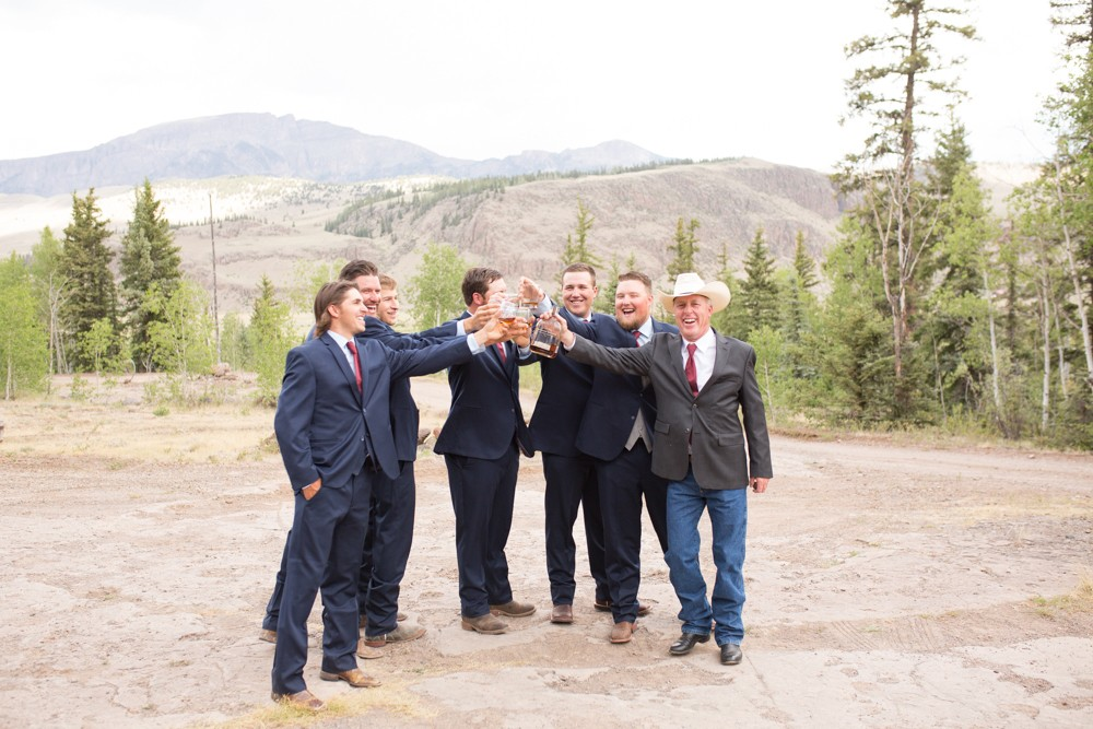 09 rocky mountain wedding cheers