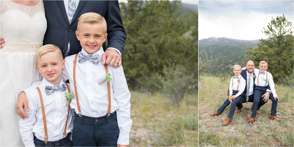14 Dad boys wedding blended family