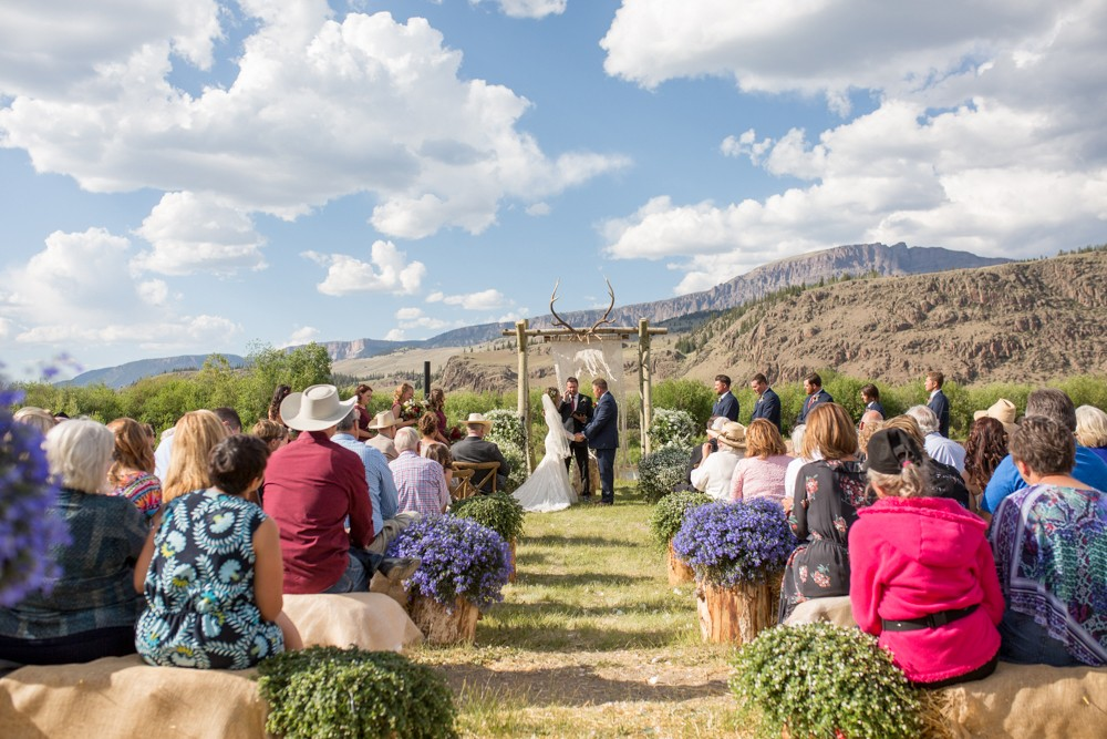 16 colorado mountain wedding ceremony