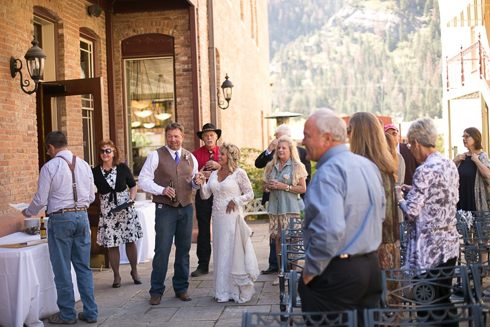 14 ouray wedding party