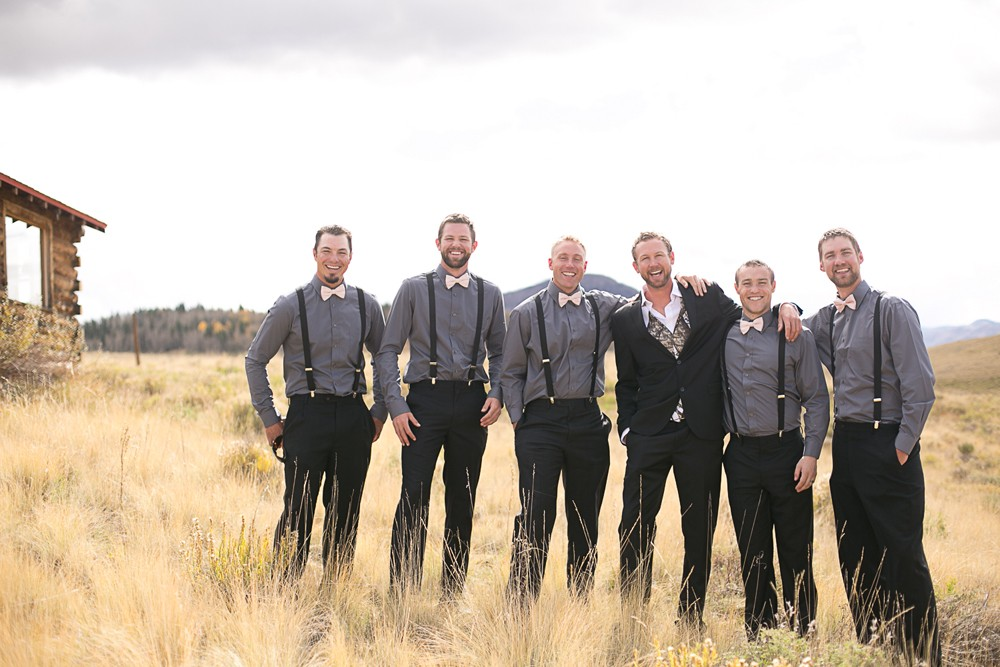42 Mountain Wedding groomsmen