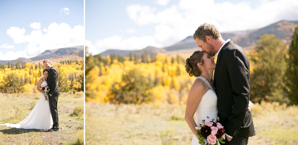 44 Colorado Fall Colors Wedding Photo