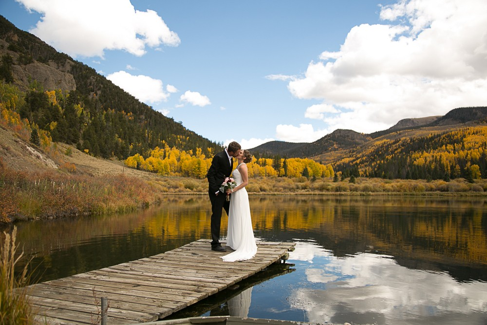 51 Creede Wedding high mountain lake