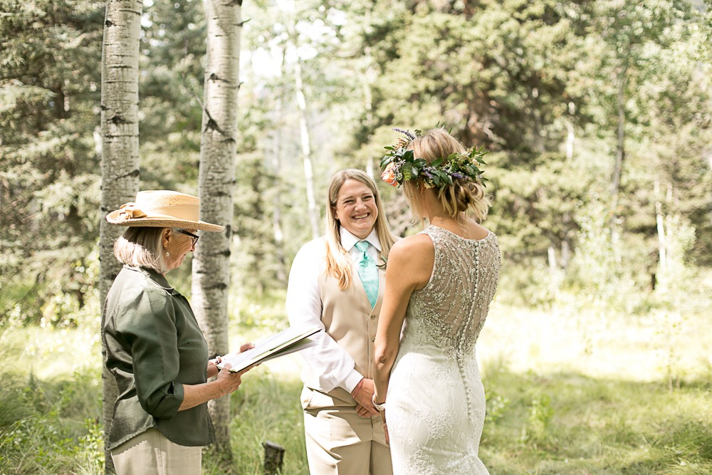 12 Colorado Wedding vows