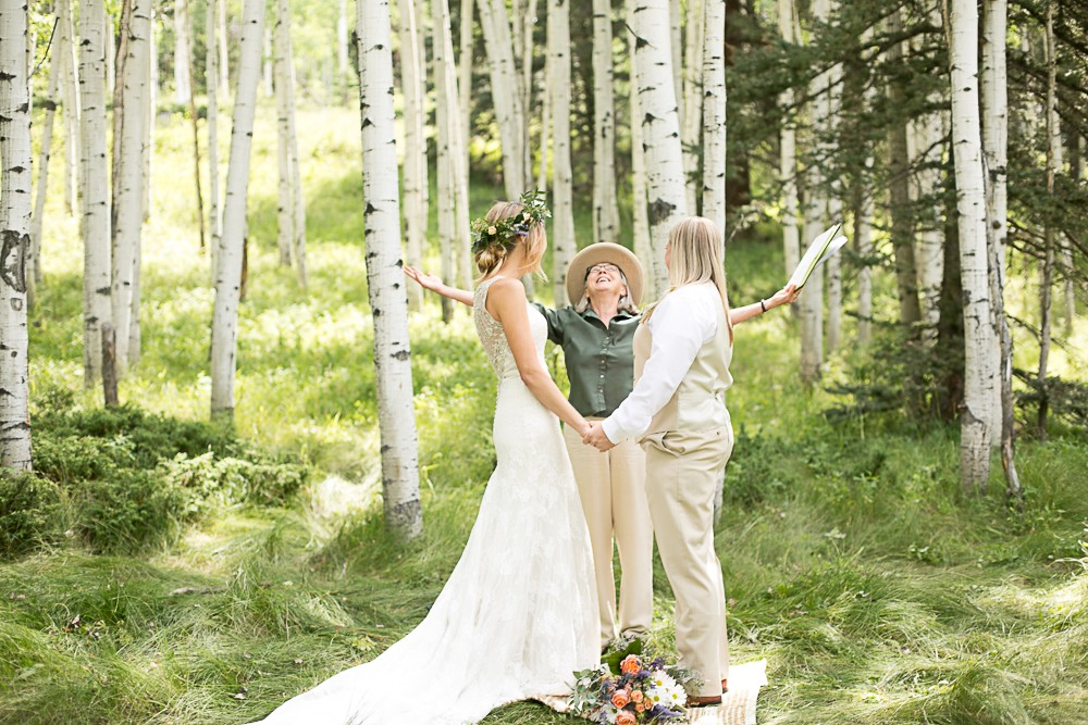 13 South Fork Wedding celebrate