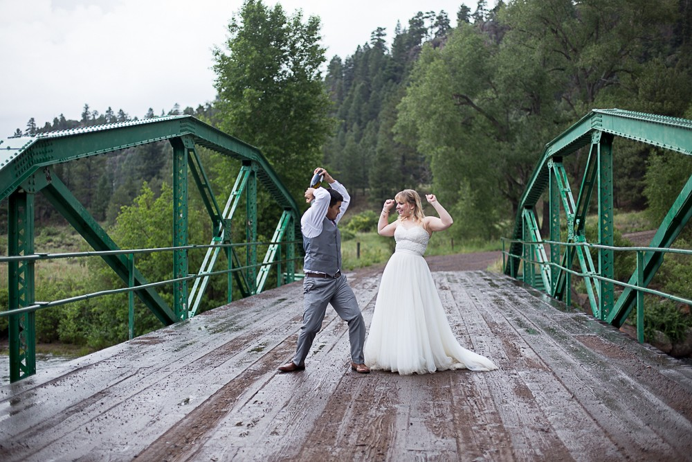 11 celebrate wedding south fork bridge