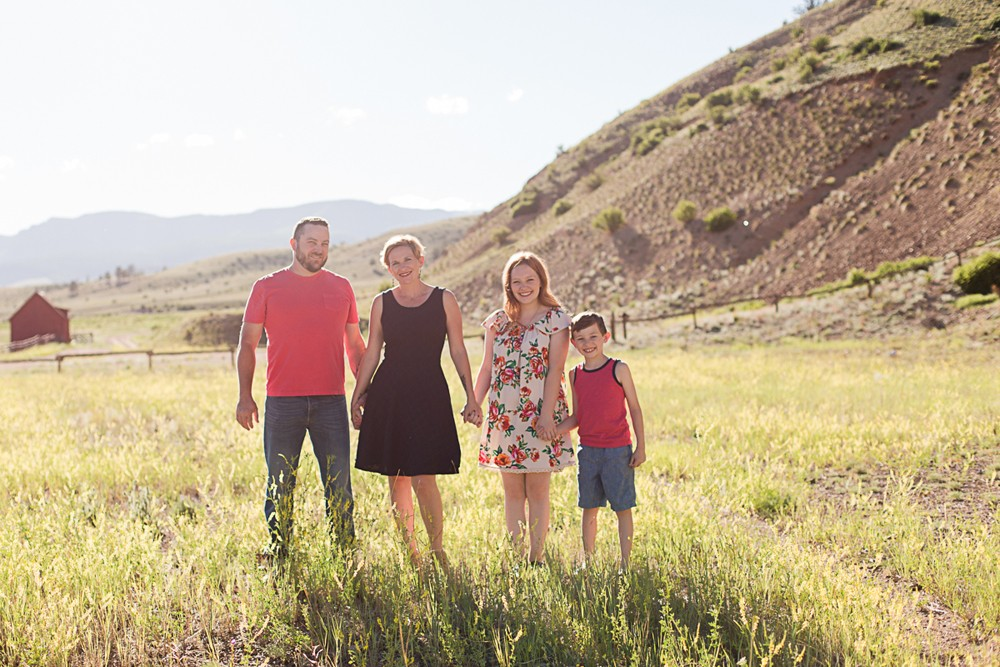 12 colorado family photos
