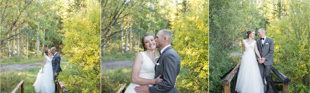 Kipp and Hillary - Married at Spar City in Creede, CO