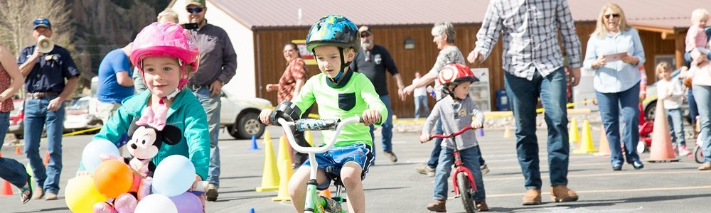 St. Jude's Trike-a-thon in Creede Colorado!!