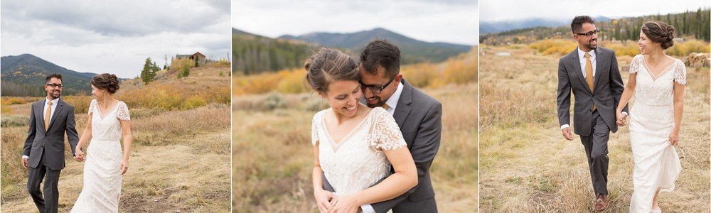 Married in Fraser, Colorado - Shelley & Hiten