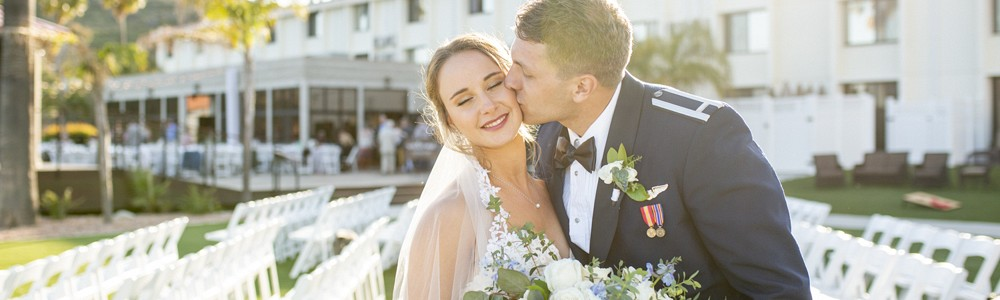 Andrew & Abbey; Me Finding You (Married at Point Loma Naval Base)
